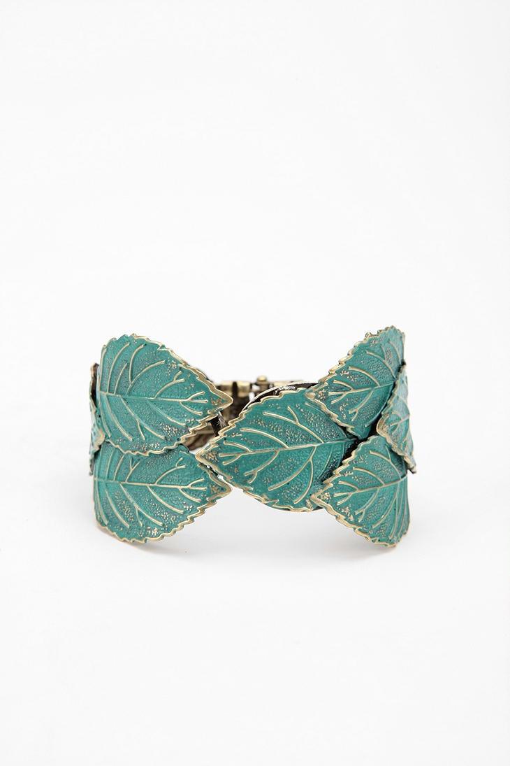 Patina Leaf Hinged Cuff Bracelet $24: Patina Leaf, Cuffs, Cuff Bracelets, Leaves, Male, Style Stuff, Bejeweled