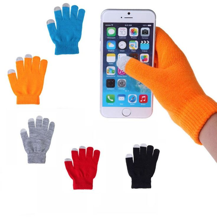 Touchscreen gloves, also known as texting gloves, capacitive gloves or even iPhone gloves, are gloves that allow you to interact with a screen with your gloves on so your hands stay warm. Our gloves a