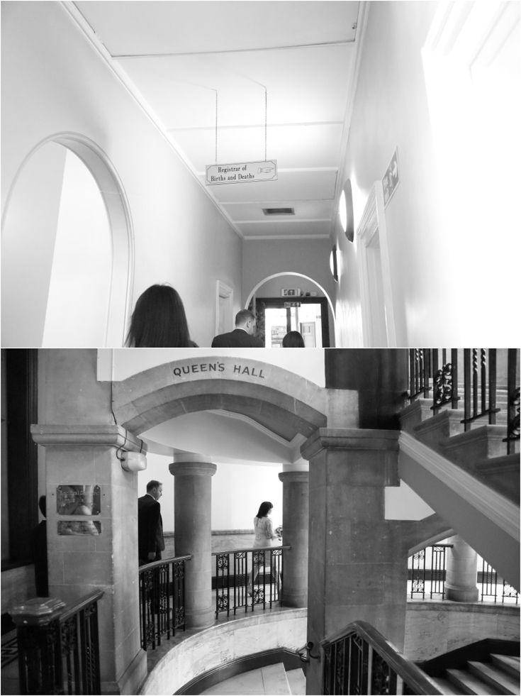 alternative reportage black and white London wedding photography