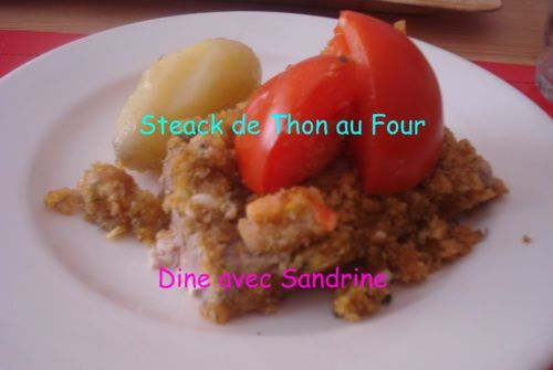 Des Steaks de Thon au Four