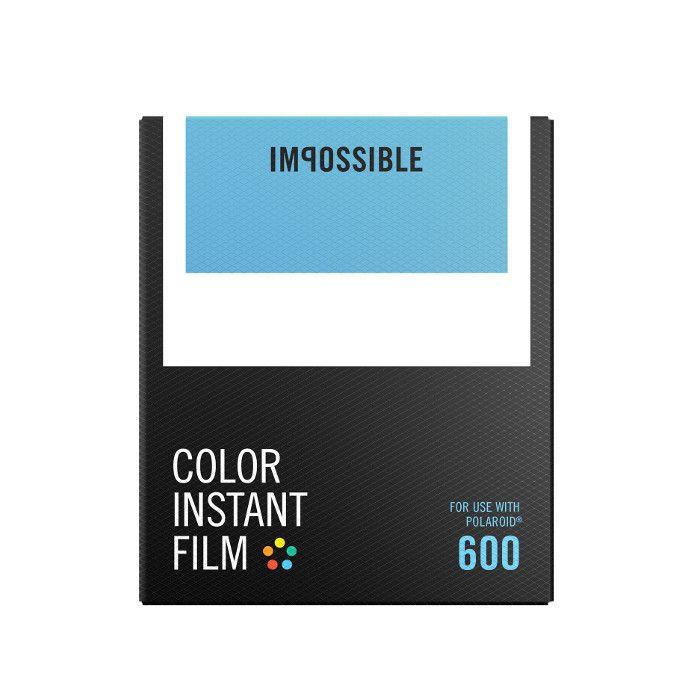 Impossible Film couleur pour Polaroid® 600 à 22 EUR sur lick.fr