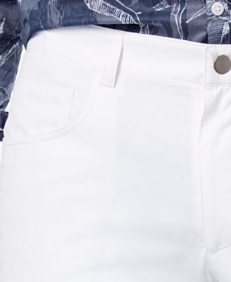 Inc International Concepts Men's Slim-Fit White Pants, Only at Macy's - White 34x30