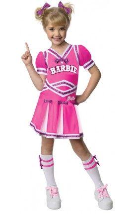 disfraz de barbie animadora para nia