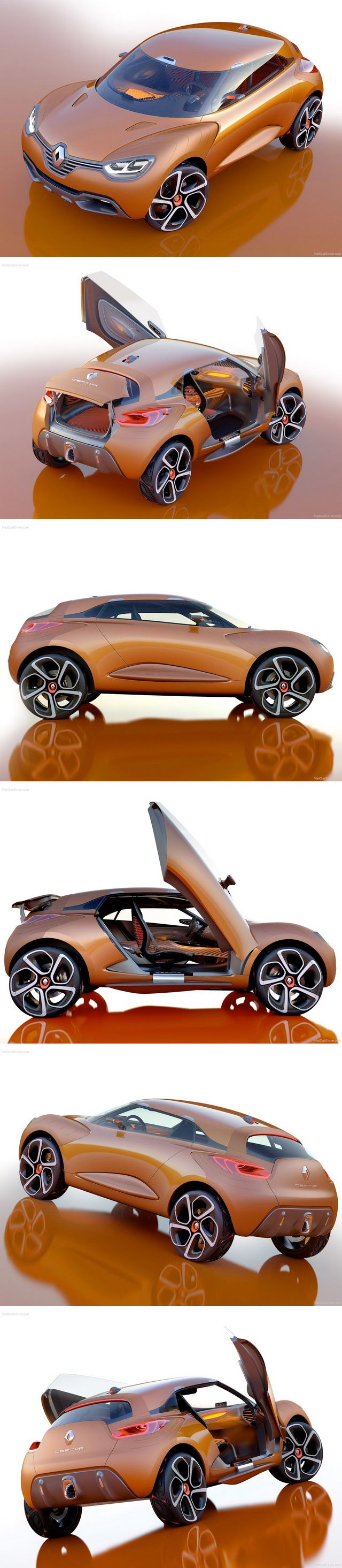 ♂ Renault Captur Concept (2011) From http://www.conceptcar.ee/