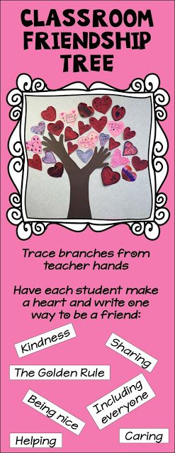Classroom Friendship Tree - Light Bulbs and Laughter Blog