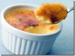 Crème Brûlée de calabaza