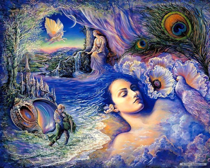 Dreaming....Josephine Wall