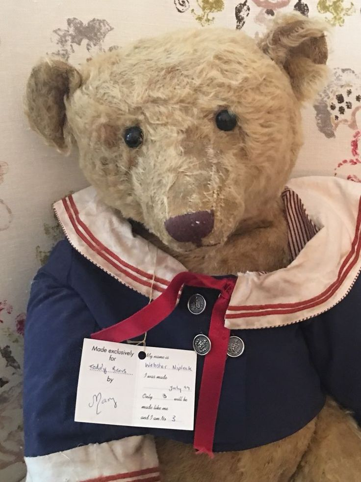 """Special 25"""" Large Sailor Bear from FORGET ME NOT BEARS"""