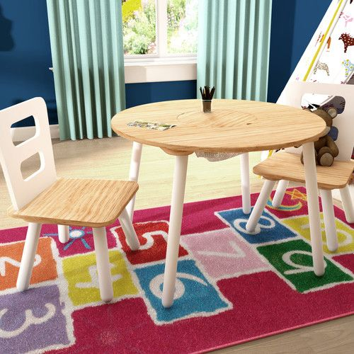 Found it at Wayfair.co.uk - Children's 3 Piece Round Table and Chair Set