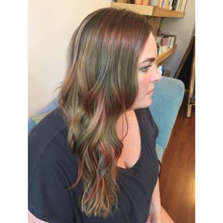 Some women are going for a subtle hint of whimsy… | Opal Hair Is The Pastel Version Of Rainbow Hair And It's Positively Magical