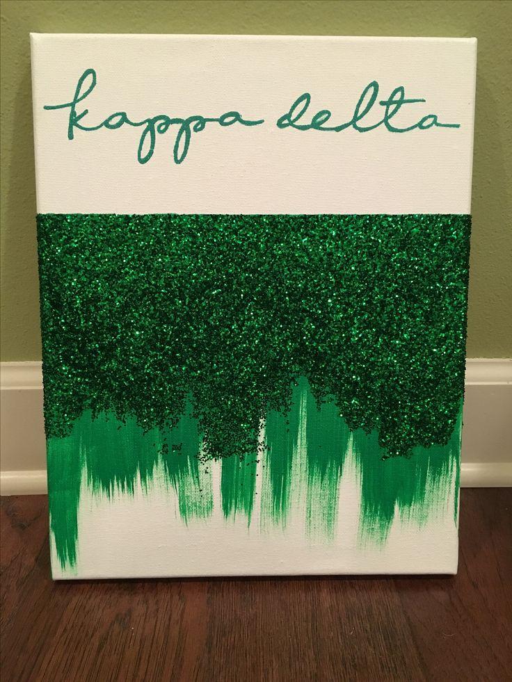 Kappa Delta Glitter 2016  #Sorority #Big #Little #Sister #Greek