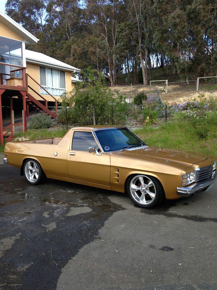 Genuine HJ Sandman UTE Rare 10 1974 Contessa Gold GMH V8