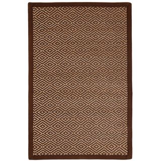 Another Bamboo Rug For A Chic, Very Designed Look   Bamboo Makes An  Incredible Rug ~ Anji Mountain Natural Fibers Odyssey Bamboo Dark Brown Rug