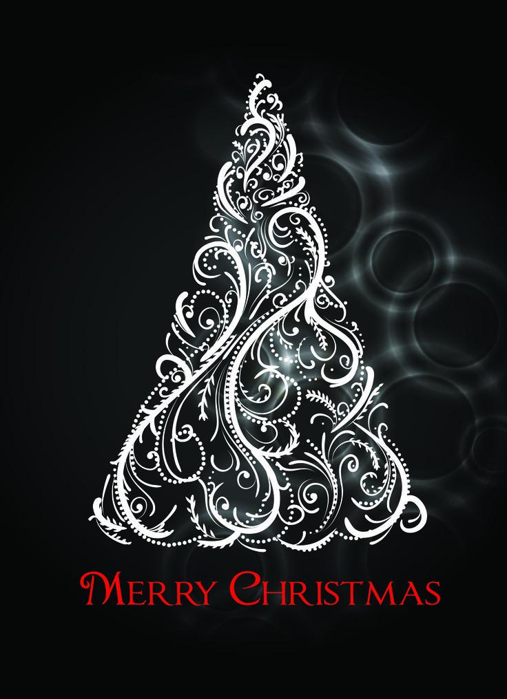 Vector Christmas Christmas Tree Design Christmas Christmas