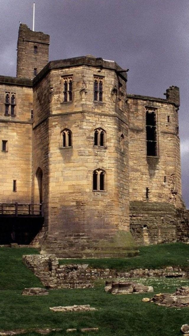 Warkworth Castle, Northumberland, England Warkworth Castle was first documented in a charter of 1157–1164 when Henry II granted it to Roger fitz Richard. in 1345 Henry de Percy, 2nd Baron Percy, took control of Warkworth Castle - generation 22 on family tree.