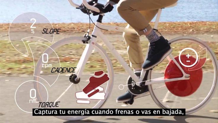 """""""The Copenhagen Wheel"""". Un proyecto desarrollado con la colaboración de diferentes desarrolladores e investigadores, entre ellos parte del equipo del MIT."""