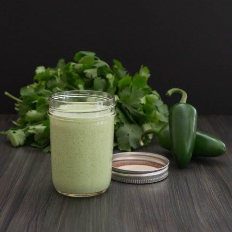 Healthy version of Chuy's Jalapeno Ranch