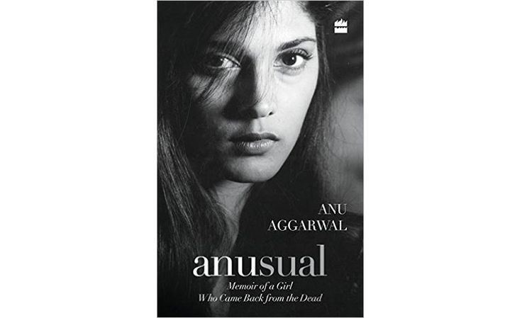 """""""Anusual"""" signed with a personal message from Anu Aggarwal"""