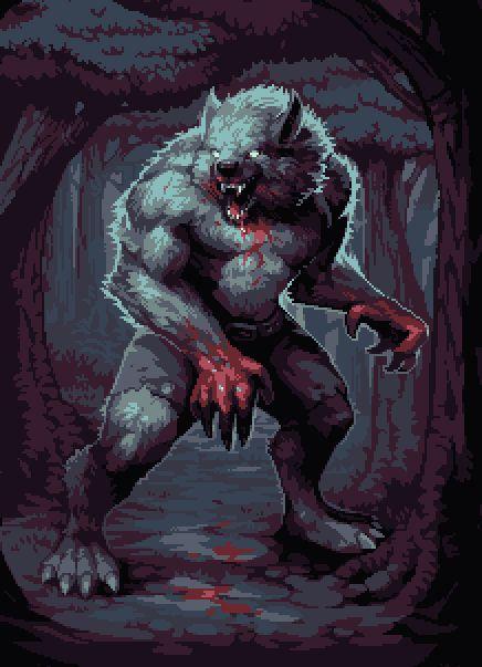 """""""Lobisomem  ou licantropo  (do grego λυκάνθρωπος: λύκος, lykos , """"lobo"""" e άνθρωπος, anthrōpos , """"homem""""), é um ser lendário, com origem em t..."""