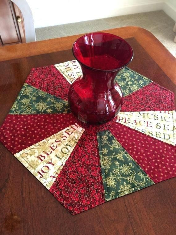 Quilted Round Table Toppers.Image Result For Quilted Round Table Toppers Memory Project Ideas