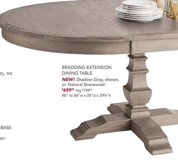 Image Result For Bradding Shadow Gray Extension Dining Table Extension Dining Table Dining Table Dining