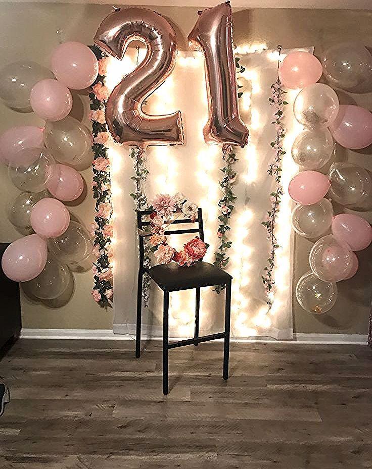 21 Geburtstag Dekor 21 Geburtstag Geburtstagpartyideen Partyideen Partyinspirat 21st Party Decorations 21 Birthday Party Decorations 21st Bday Ideas