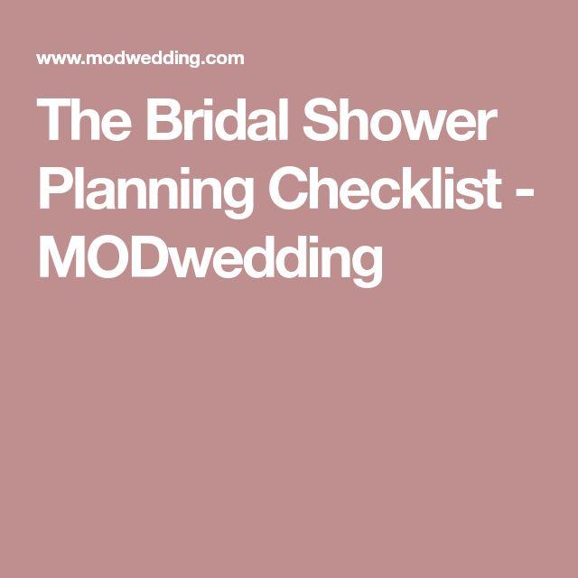 The 25+ best Bridal shower checklist ideas on Pinterest - bridal shower checklist