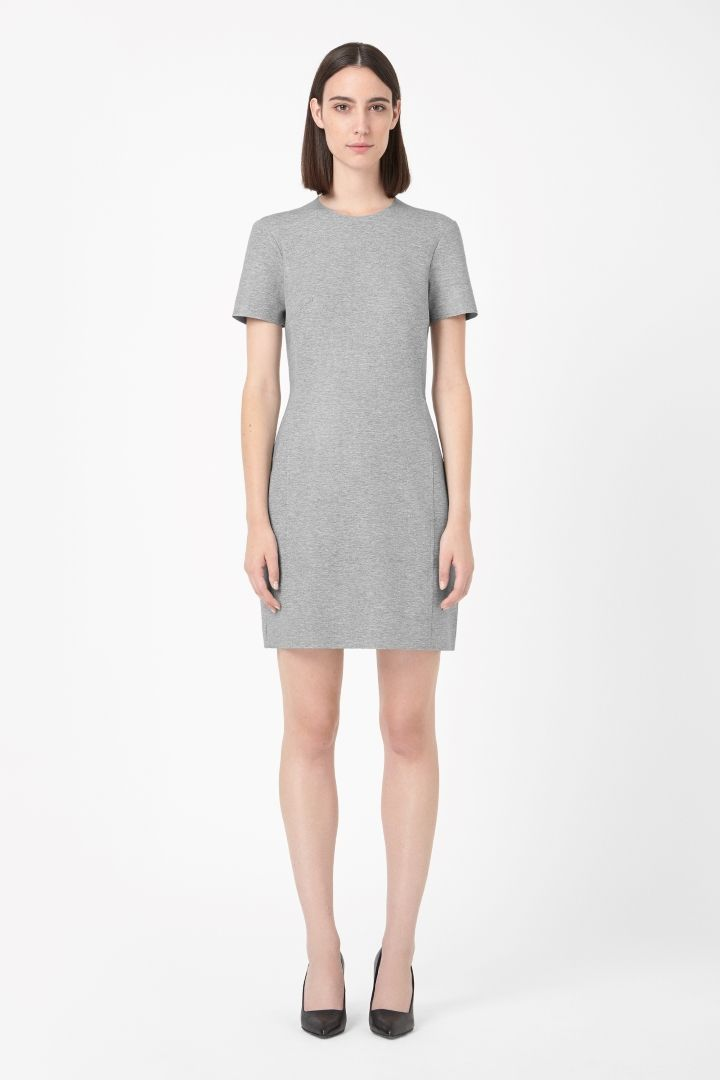 COS | Clean-edge jersey dress