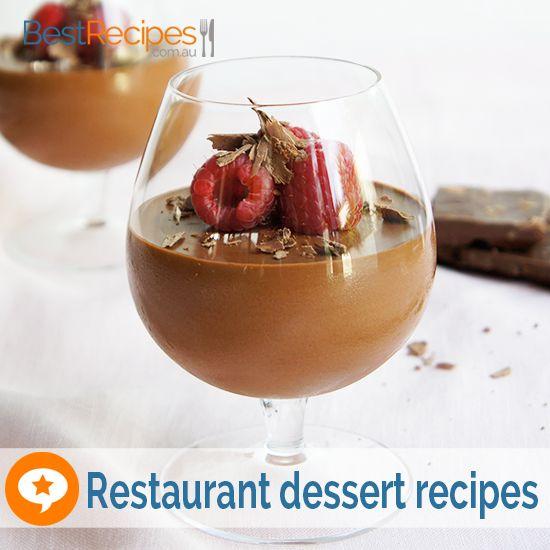 Restaurant dessert recipes classy tasty easy dinner for Easy party desserts recipes