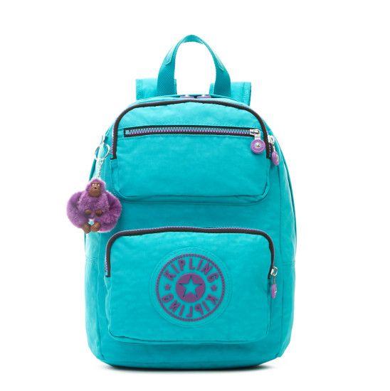 Dawson S Backpack - Cool Turquoise | Kipling