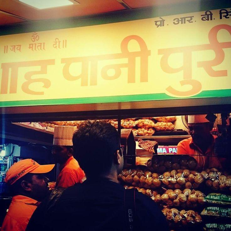 Pani puri <3 #lategram #Indianfood