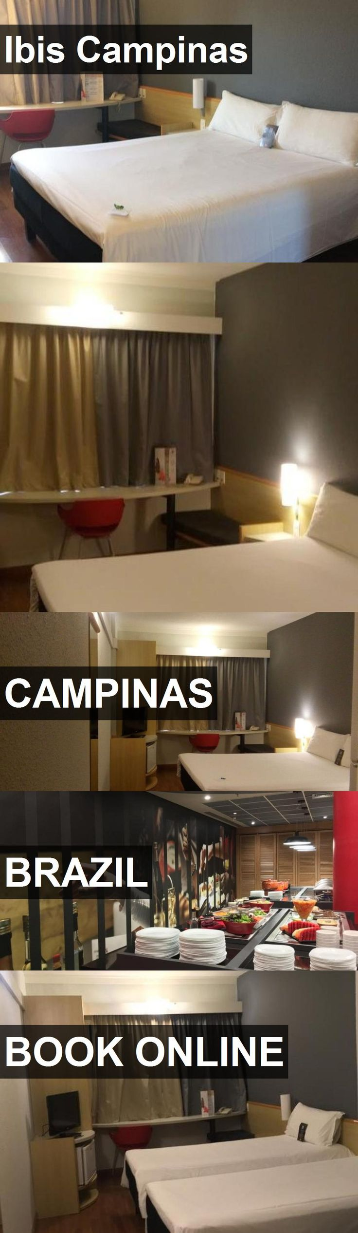 Hotel Ibis Campinas in Campinas, Brazil. For more information, photos, reviews and best prices please follow the link. #Brazil #Campinas #IbisCampinas #hotel #travel #vacation