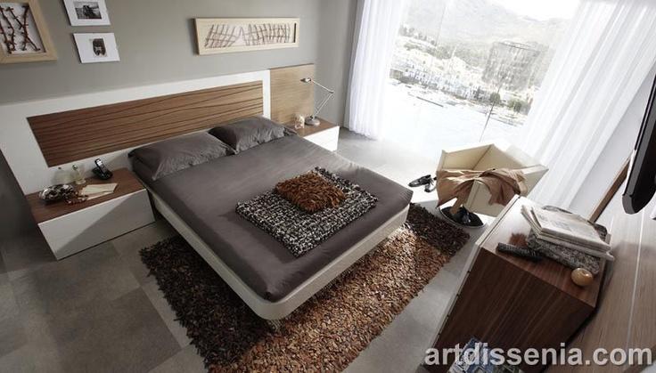 Decoracion super fashion modernos dormitorios for Decoracion de alcobas matrimoniales