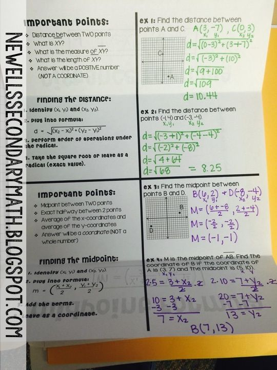 3d coordinate geometry formulas pdf