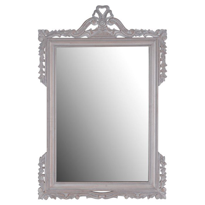 "Parson Mirror In Grey From Joss & Main. 47""H X 31""W X 1""D"