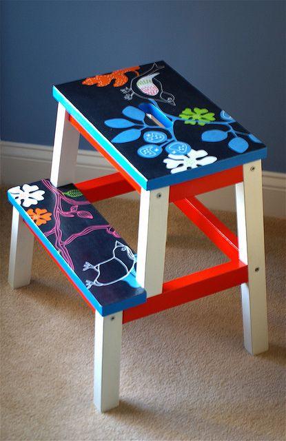 les 94 meilleures images propos de ikea bekvam sur pinterest escabeaux bricolage et peindre. Black Bedroom Furniture Sets. Home Design Ideas