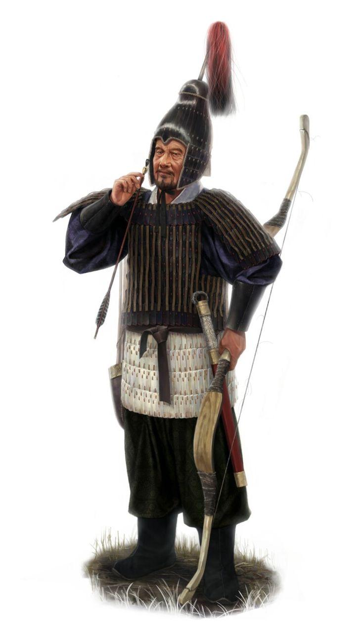 4세기 추정 백제 뼈 찰갑(주로 노약자나 기마병으로 추정)-4C assumption ,Baekje's bone armor(mostly cavarly or the old and infirm) 출처(source): http://m.blog.naver.com/silk789/220730914373