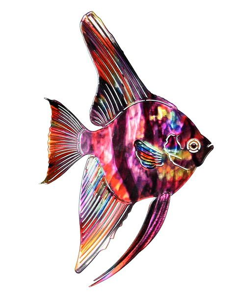 Metal Fish Wall Lights : 1000+ images about fish wall art on Pinterest Fish art, Metal sculptures and Hardware