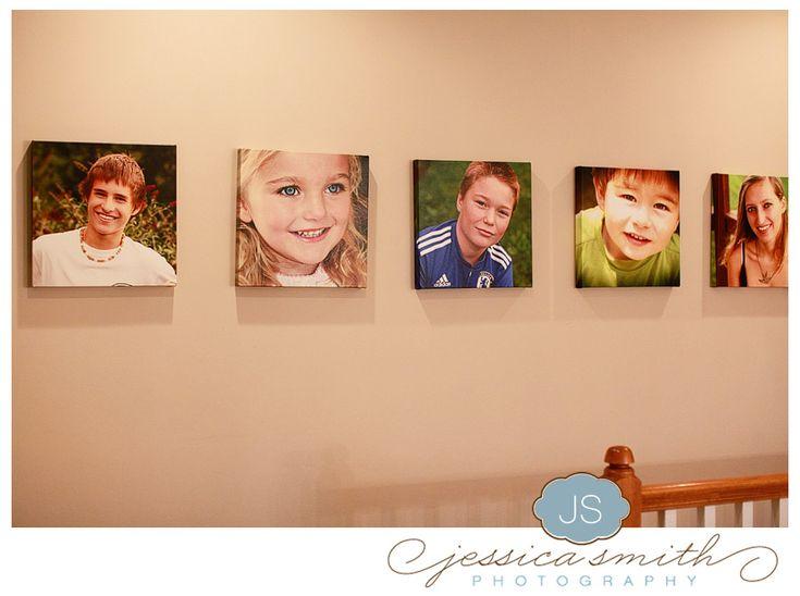 Hallway picture display