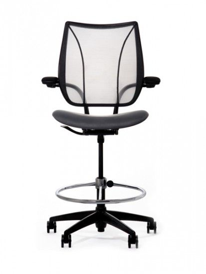 Liberty Mesh Drafting Chair The Counter Height Teller