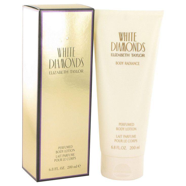White Diamonds Perfume By ELIZABETH TAYLOR FOR WOMEN-6.8 oz Body Lotion #ElizabethTaylor