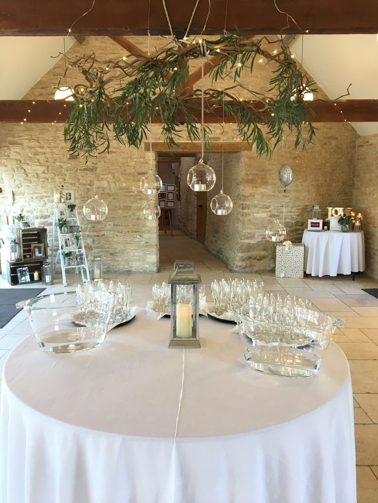 86 best quirky wedding ideas we love the kingscote barn images hanging glass baubles on a gorgeous wreath at the kingscote barn decorations by wilde bunch wedding flowers junglespirit