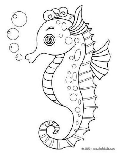 coloring pages seahorse coloring pages for kids