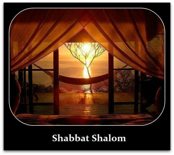 Shabbat Shalom Stephanie and TG