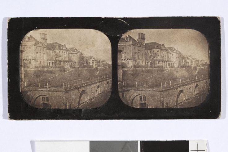 fot: Karol Beyer, obiekt pochodzi ze zbiorów Muzeum Narodowego w Warszawie. Zamek Królewski i Arkady Kubickiego z Nowego Zjazdu. Zdjęcie pochodzi z 1856 roku.