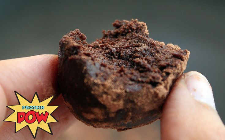 Dark Chocolate Protein Truffles on Earth: a Dream Come True! - Protein Pow
