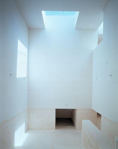Atrium of the Public school in Cadiz by Estudio Campo Baeza.
