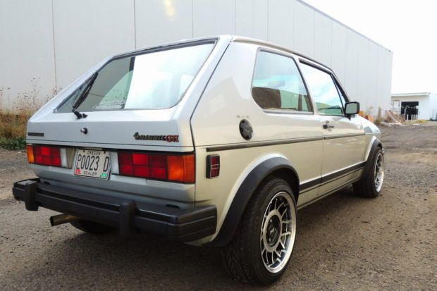 No Reserve Turbocharged 1983 Volkswagen Rabbit Gti Volkswagen