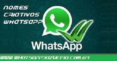 Nomes criativos para grupos de jovens - WhatsApp da Zueira