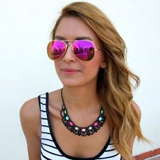 pink ray ban aviators  17 Best images about Sunglasses on Pinterest